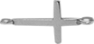 stříbrný křížek 1,5 cm