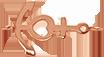 kotva z růžového zlata 1,5 cm