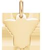 pozlacený anděl 1,5 cm