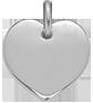 stříbrné srdce 1,5 cm