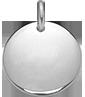 stříbrný medailon 1,5 cm