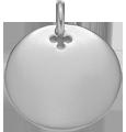 stříbrný medailon 2 cm