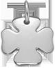 stříbrný čtyřlístek 1,5 cm