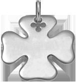 stříbrný čtyřlístek 2,7 cm