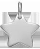 stříbrná hvězdička 1,5 cm