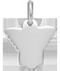 stříbrný anděl 1,5 cm