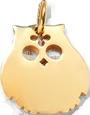 pozlacená sova