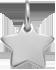 stříbrná hvězdička 1 cm