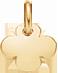 kulatý pozlacený čtyřlístek 1 cm