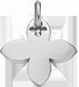 stříbrná lilie 2 cm