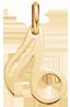 lemovaná nota 1,5 cm ze žlutého zlata