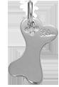 stříbrná kost 1,8 cm