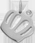 Koruna Queen 1,2 cm stříbrná
