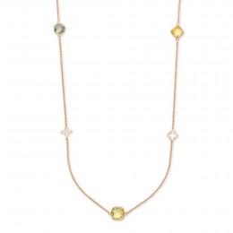 Biarritz náhrdelník s drahými kameny