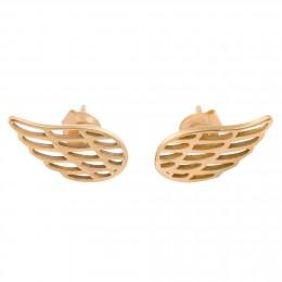 Pozlacené náušnice Křídla