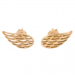 Náušnice křídla ze zlata ryzosti 585