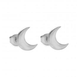 Stříbrné náušnice Lune na puzetě