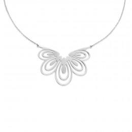 Stříbrný náhrdelník Páv