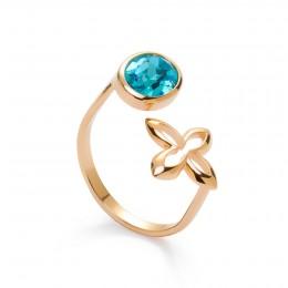 Pozlacený prsten Barok