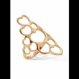 Pozlacený prsten Full Love
