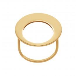 Pozlacený prsten Lune