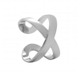 Prstýnek Infinity bílé zlato o ryzosti 585