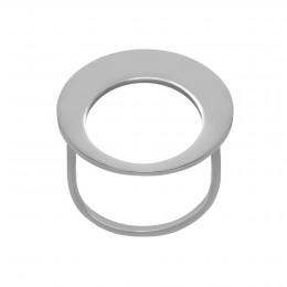Postříbřený prsten Lune