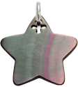 hvězdička z tmavé perleti 2 cm SR