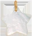 hvězdička z perletě 2 cm PO