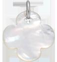 čtyřlístek kulatý zperletě 2 cm SR