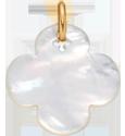 čtyřlístek kulatý zperletě 2 cm PO