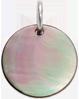 medailon z tmavé perleti 1,5 cm SR