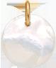 medailon z perletě 1,5 cm PO