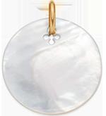 medailon z perletě 2,7 cm PO
