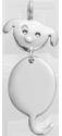 Stříbrný přívěšek Pejsek 2,2 cm