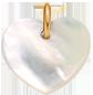 srdíčko z perletě 1,5 cm PO