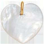 srdíčko z perletě 2,7 cm PO