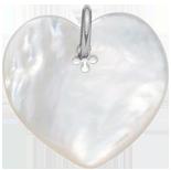 srdíčko z perletě 2,7 cm SR